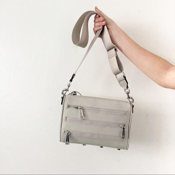 45e7a6412 Rebecca Minkoff Bags | Solstice Mini 5 Zip Crossbody Bag | Poshmark